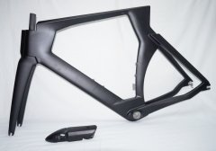 VB-TT-001 Carbon Fiber Time Trial TT Frame Set Includes TT Bars